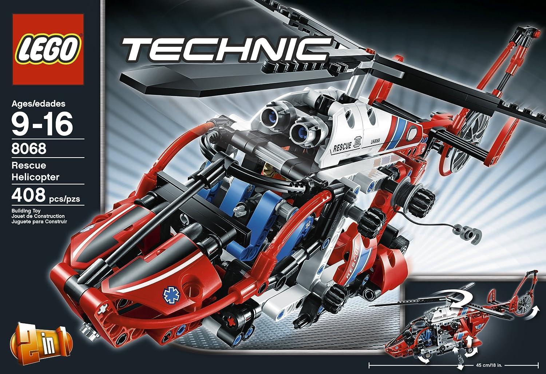 8068 LEGO Technic Rescue Helicopter レスキューヘリコプター レゴ テクニック