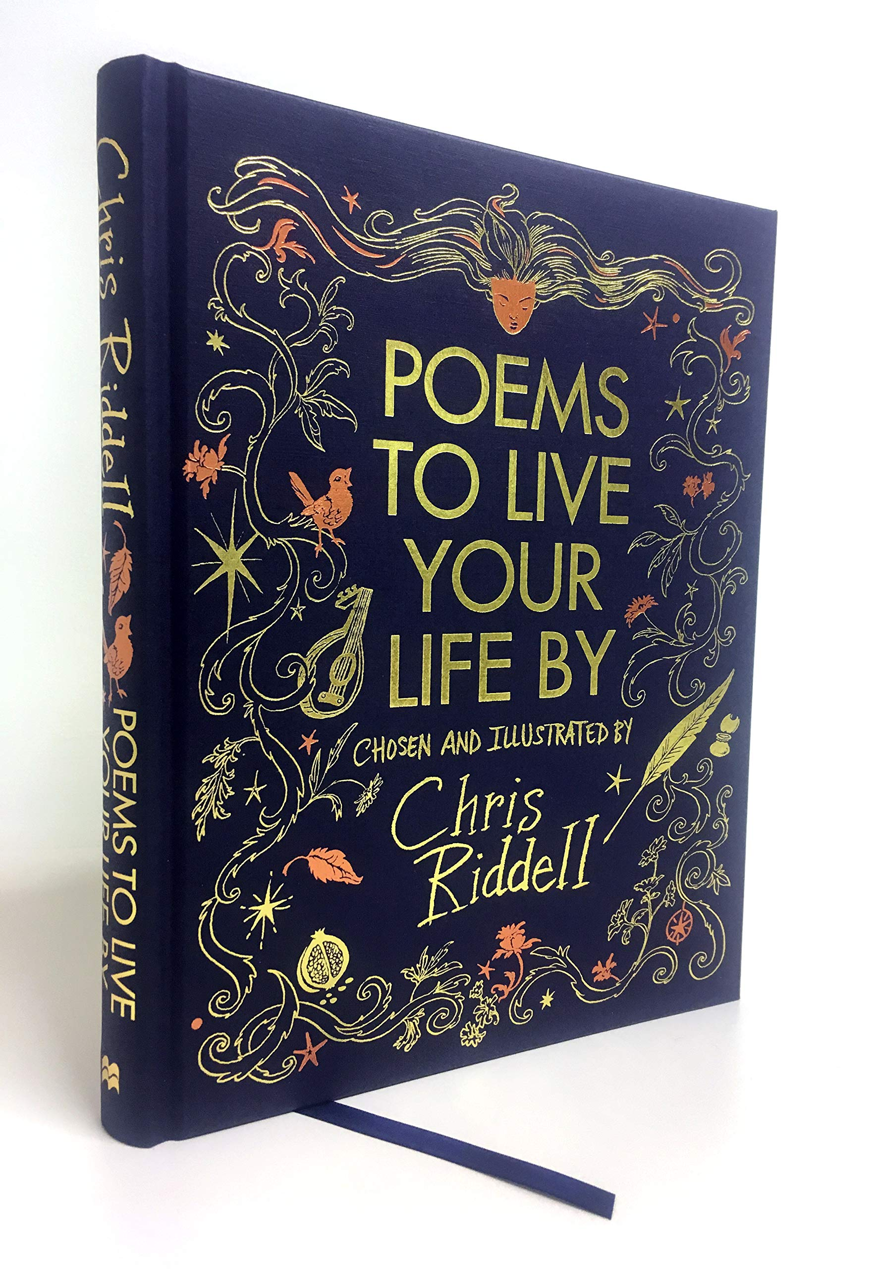 Poems To Live Your Life By Amazoncouk Chris Riddell Books
