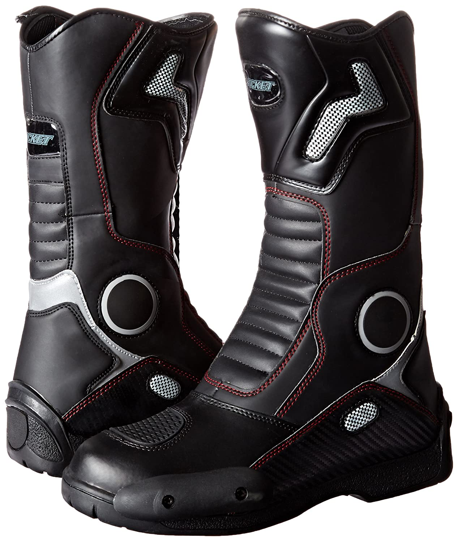 Joe Rocket 1377-0012 Ballistic Touring Mens Boots Black, Size 12