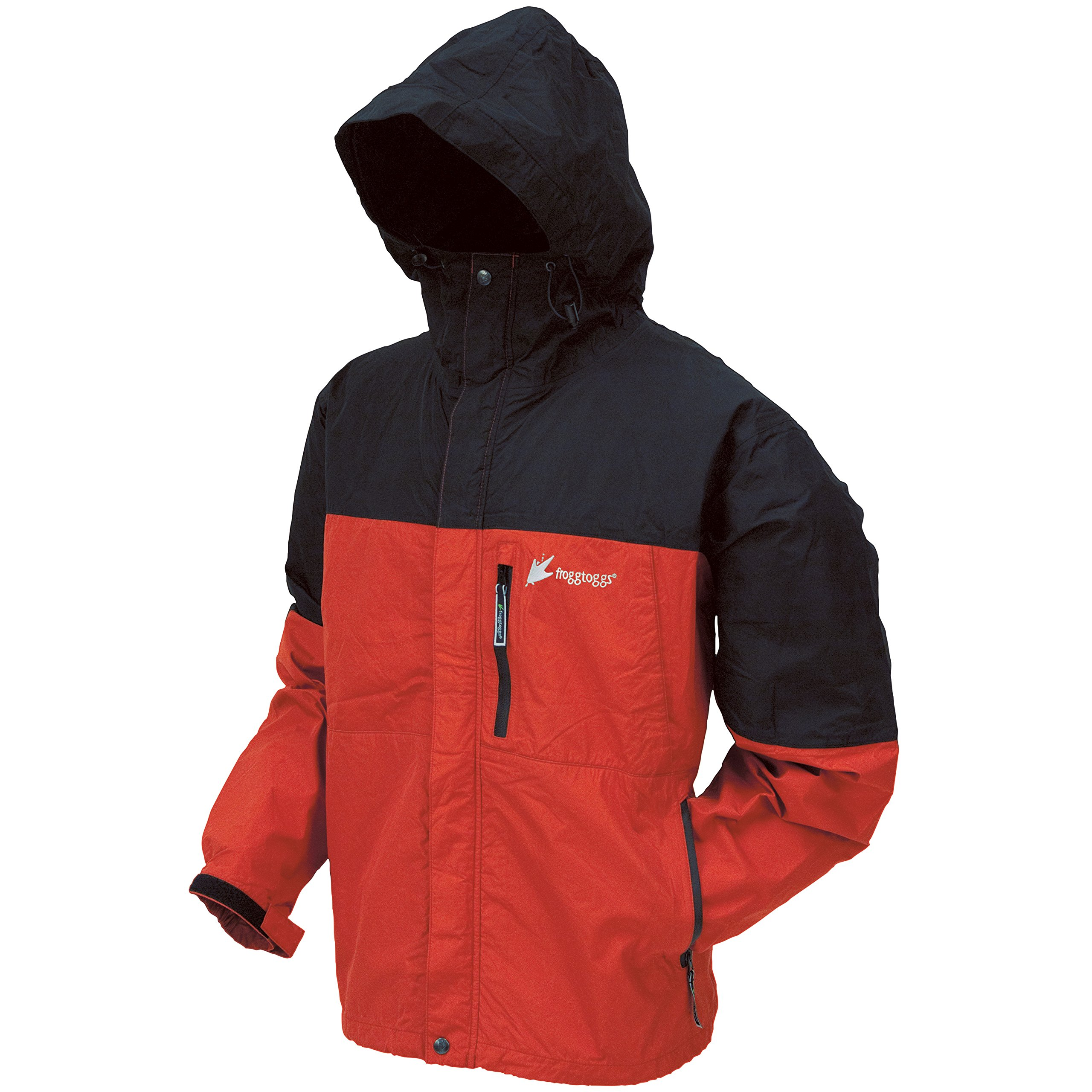 Frogg Toggs Toadz Rage Jacket, Red/Black, Medium