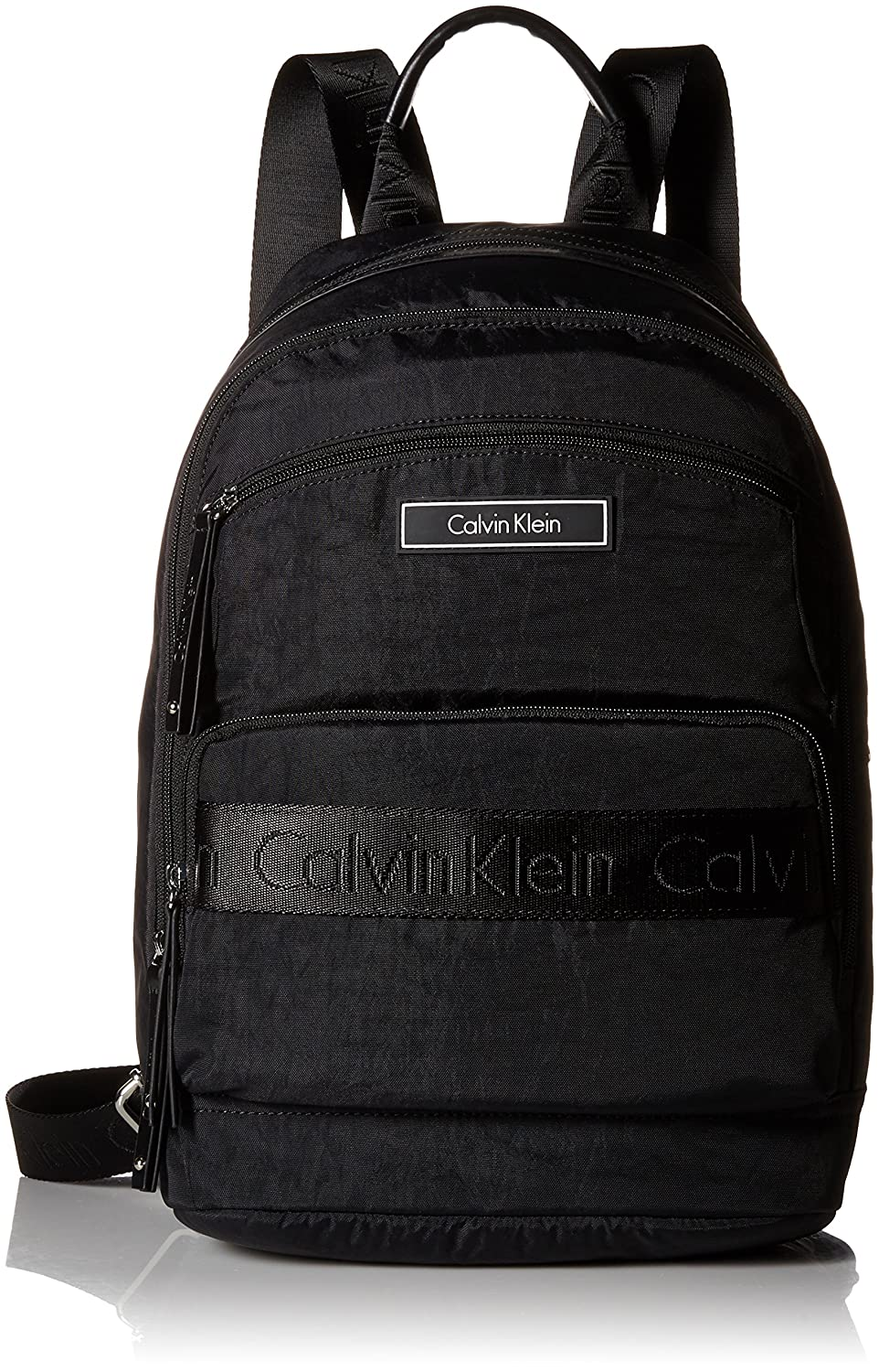 d027bea0e Calvin Klein Red Nylon Backpack | Building Materials Bargain Center