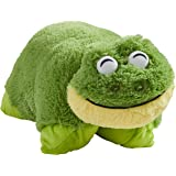 Pillow Pets Friendly Frog Stuffed Plush Toy for Sleep, Play, Travel, and Comfort - Great for Boys and Girls of All Ages - Soft and Washable