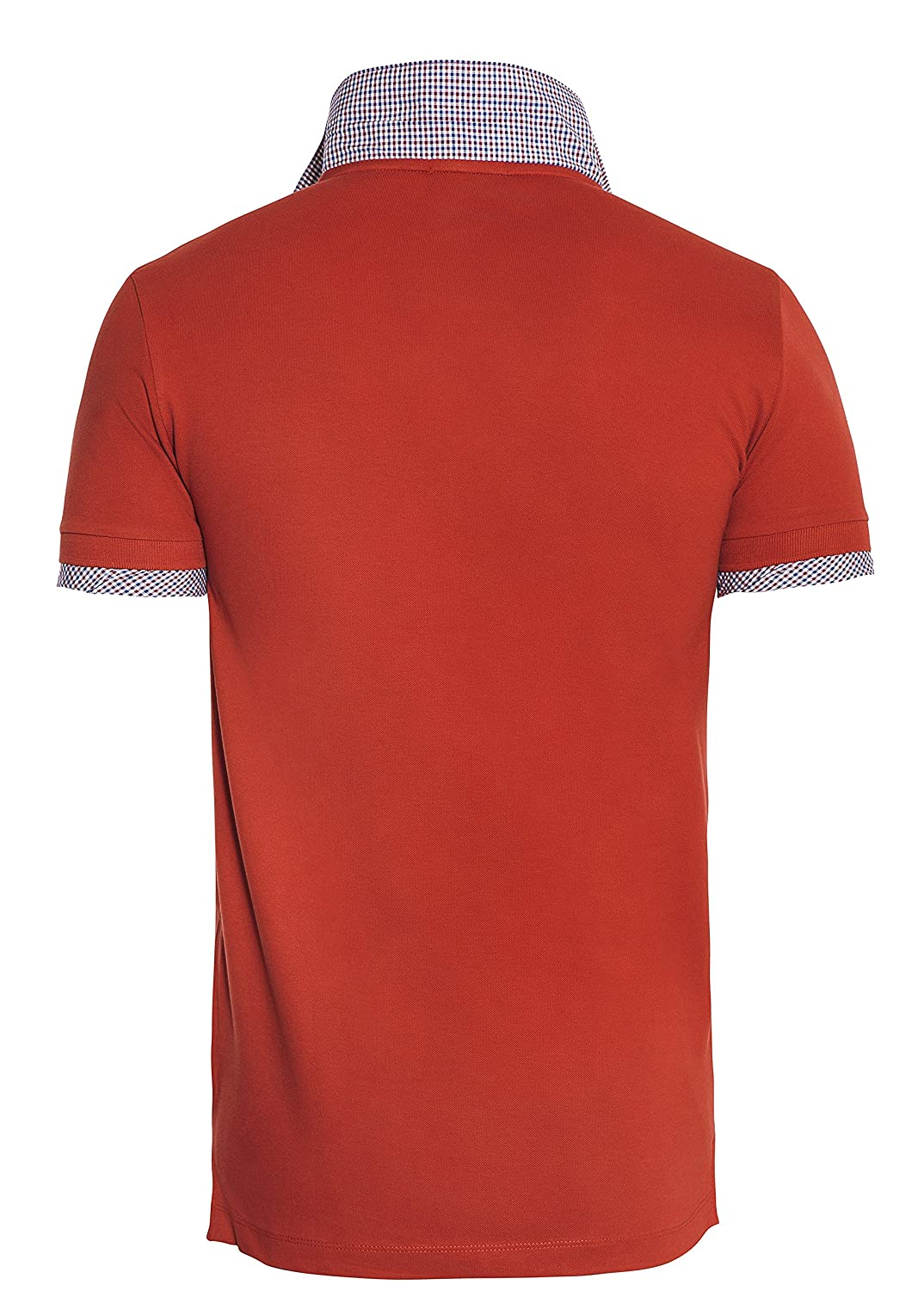 Beverly Hills Polo Club - Polo - para Hombre Rojo S: Amazon.es ...