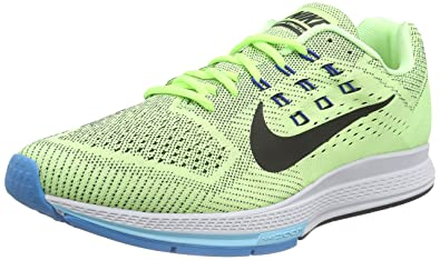 c5626d1e2e9f30 NIKE Men s Air Zoom Structure 18 Running Shoes Green Size  11.5 UK ...