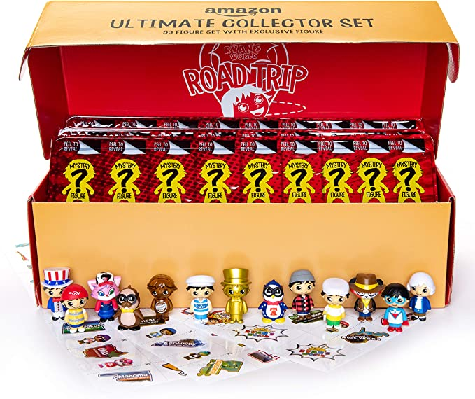 New in Package Ryan/'s World Collectible Figure 8-Piece Set