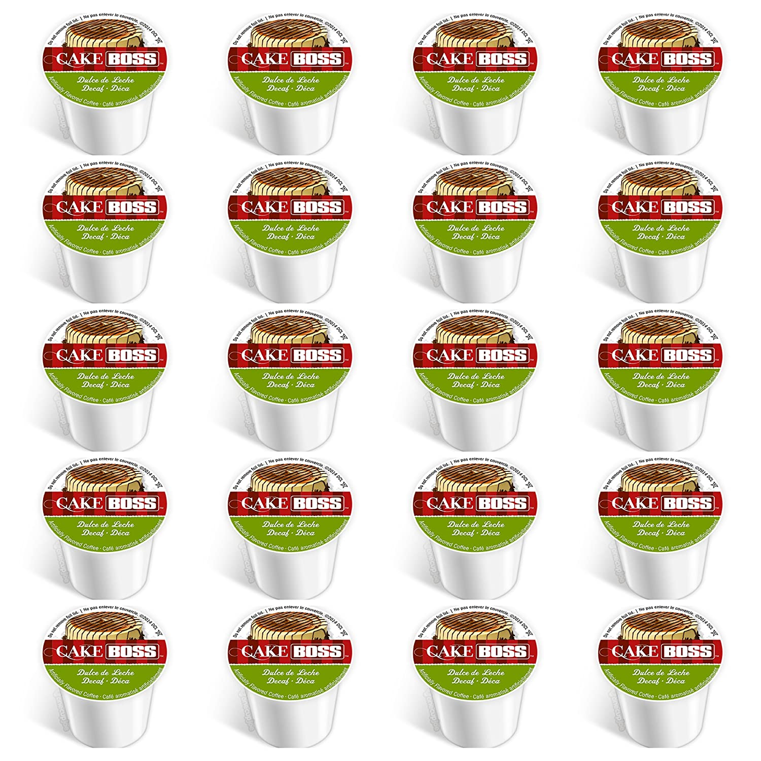 Cake Boss Dolce De Leche Decaf Single Cup Coffee for Keurig® K Cup® Brewers - 20 Ct.: Amazon.com: Grocery & Gourmet Food
