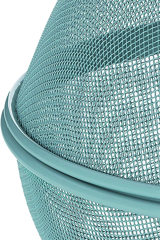 Color : Green Plushfarm Piatto di Frutta di Ferro da Cesto di Frutta griglia con Coperchio Cucina lavastoviglie lavastoviglie cestini da Scarico Decorazione della Navigazione Esterno cassetti
