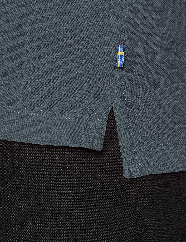 FJALLRAVEN Men's Övik Polo Shirt M Short Sleeves T-Shirt Dusk
