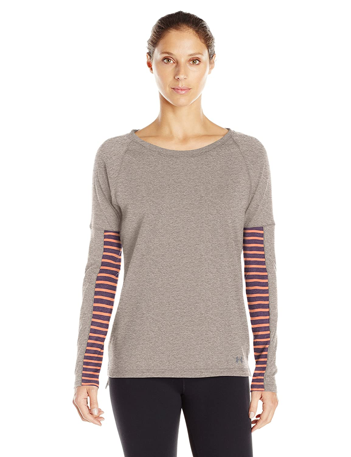 quality design bd7f6 ecce7 Amazon.com  Under Armour Womens Rest Day Long Sleeve Top  Clothing