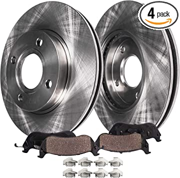 |Front Rotors w//Ceramic Pads OE Brakes 97-03 Escort 95-98 Protege