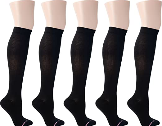 The Dr. Motion Women's Half-Cushion Compression Socks travel product recommended by Angela Berardinelli on Lifney.