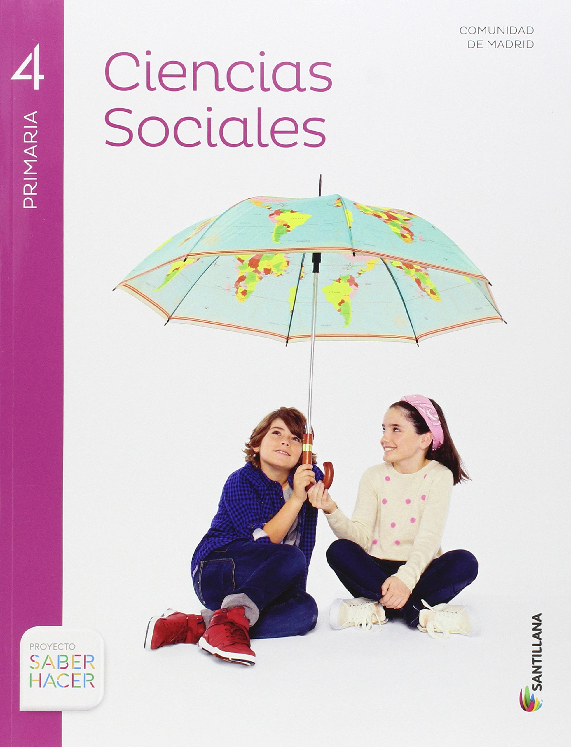 Ciencias Sociales + Atlas de la Comunidad de Madrid 4º Primaria ...