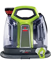 BISSELL 2513E Little Green Proheat Portable Deep Cleaner/Spot Cleaner with self-Cleaning HydroRinse Tool and OXY Powered Formula for Carpet and Upholstery