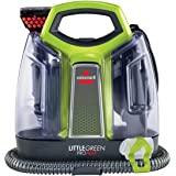 BISSELL 2513E Little Green Proheat Portable Deep Cleaner/Spot Cleaner with self-Cleaning HydroRinse Tool for Carpet and Uphol