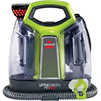 BISSELL 2513E Little Green Proheat Portable Deep Cleaner/Spot Cleaner with self-Cleaning HydroRinse Tool for Carpet and…