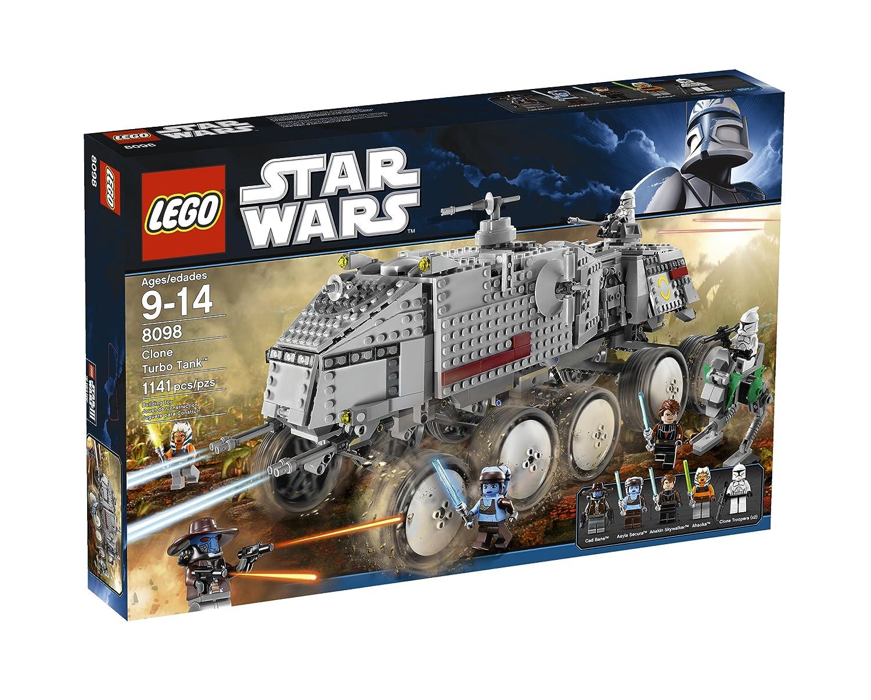 LEGO Star Wars Clone Turbo Tank juego de construcción - juegos de construcción (Multicolor, 9 año(s), Película, 14 año(s)): Amazon.es: Juguetes y juegos