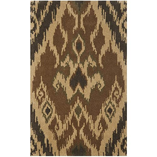 Safavieh Heritage Collection HG817A Handcrafted Traditional Oriental Black and Ivory Wool Area Rug 2 3 x 4