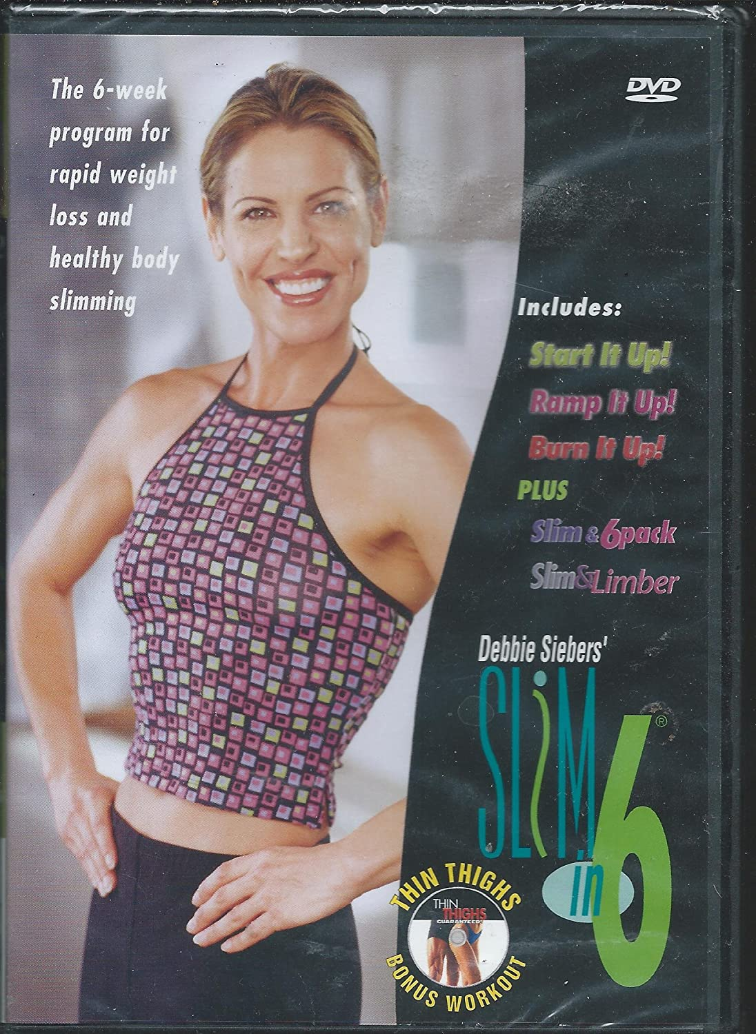 Debbie Siebers' Slim in 6 (2 DVD Set) by Debbie Sieber