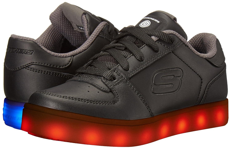 schicker Schn/ürsneakers mit LED Leuchteffekt Skechers Jungen Energy Lights Elate legerer