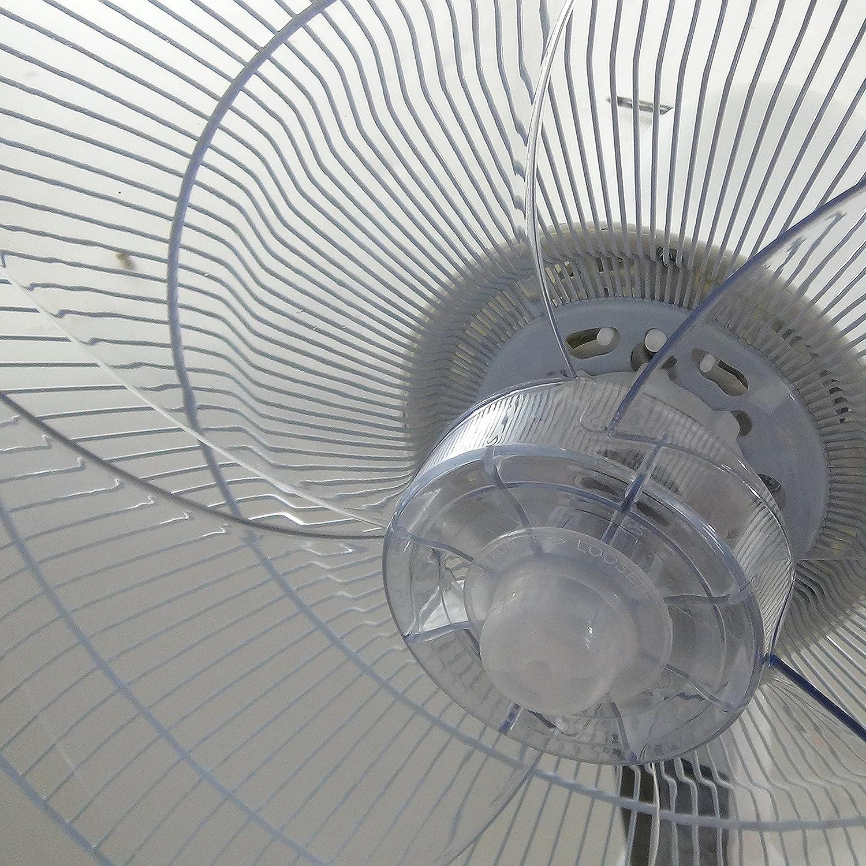 DynaSun DSE2RC LCD LED Ventilatore a Piantana Elegance con Potenza 60W Pale D40 con Display LED Telecomando