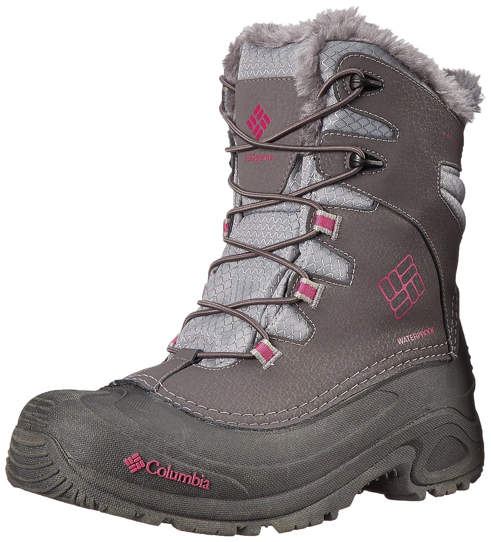Columbia Bugaboot Plus Enfant III Omni-Heat, Chaussures Multisport Outdoor Mixte Enfant Plus 33 EU|Gris (Shale/Deep Blush 051) 6dc3f9