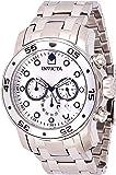 Invicta Men's Pro Diver Scuba 48mm Stainless Steel Chronograph Quartz Watch, Silver (Model: 0071)