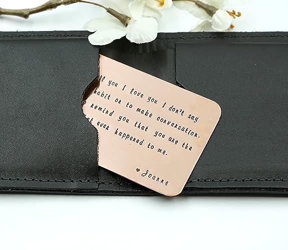 a418d46993be Amazon.com  Copper Wallet Card