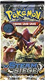 Pokemon Steam Siege - Juego de cartas, la portada puede variar