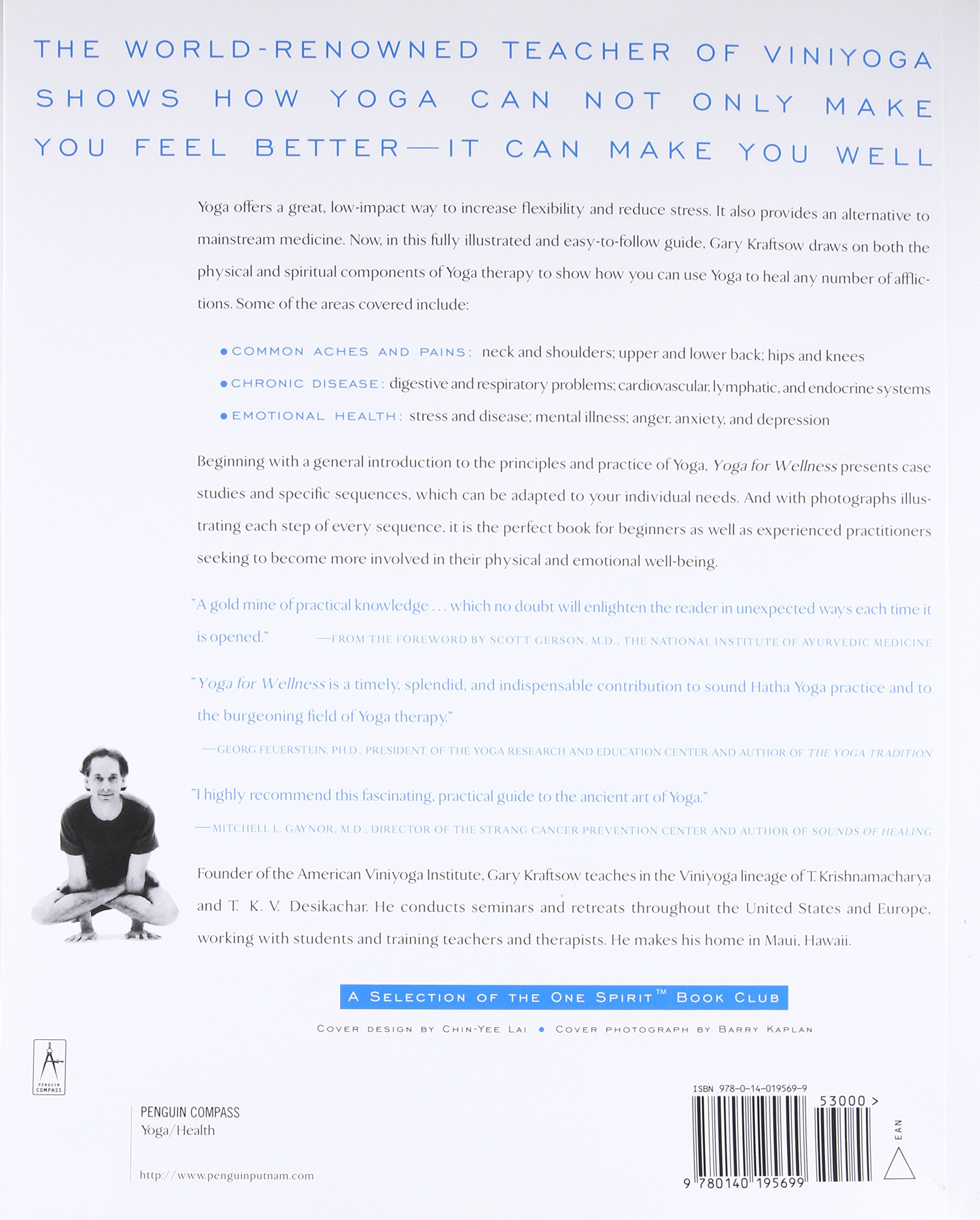 Yoga For Wellness (Compass): Amazon.es: Gary Kraftsow ...