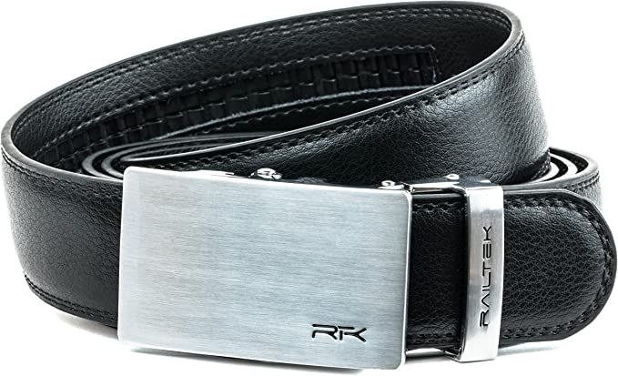 """2019  New Comfort Click Belt Leather With Steel Brown And Black For Men  No box/"""""""