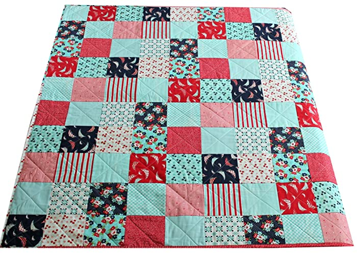 mommy blocks smilie swap most aug carol and recent white block iqbs red s star international hunter quilts blue quilt for