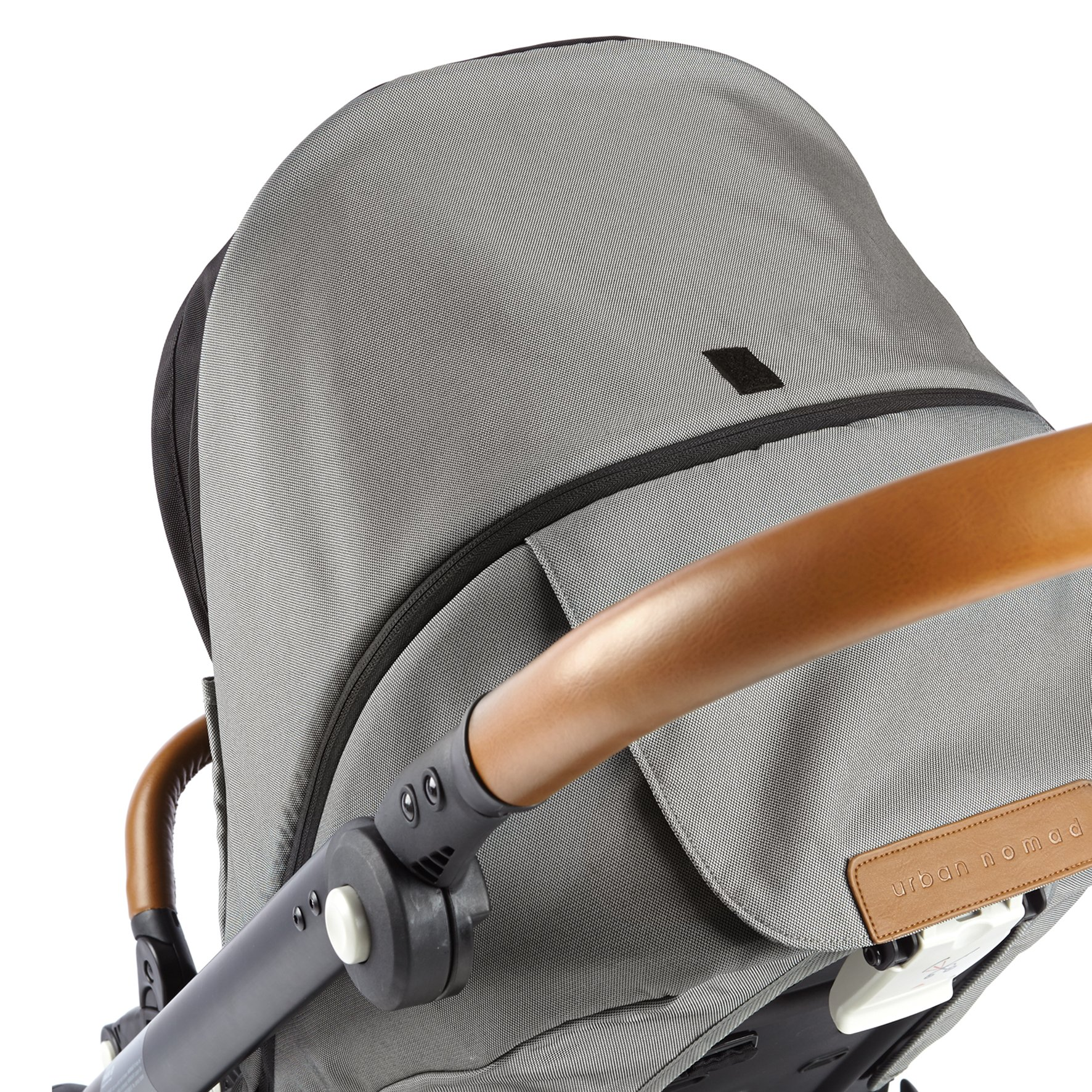 Mutsy Evo Urban Nomad Stroller, Silver Chassis, Light Grey by Mutsy (Image #6)