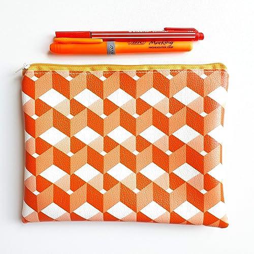 Pouch, Purse, make-up bag. Waterproof. Handmade in Spain. Neceser ...