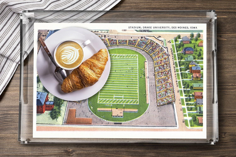Amazon.de: Des Moines, Iowa - Universität Drake, Blick von Stadion ...