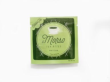 il Morso Coffee Bites, Matcha Green Tea, 40 Count