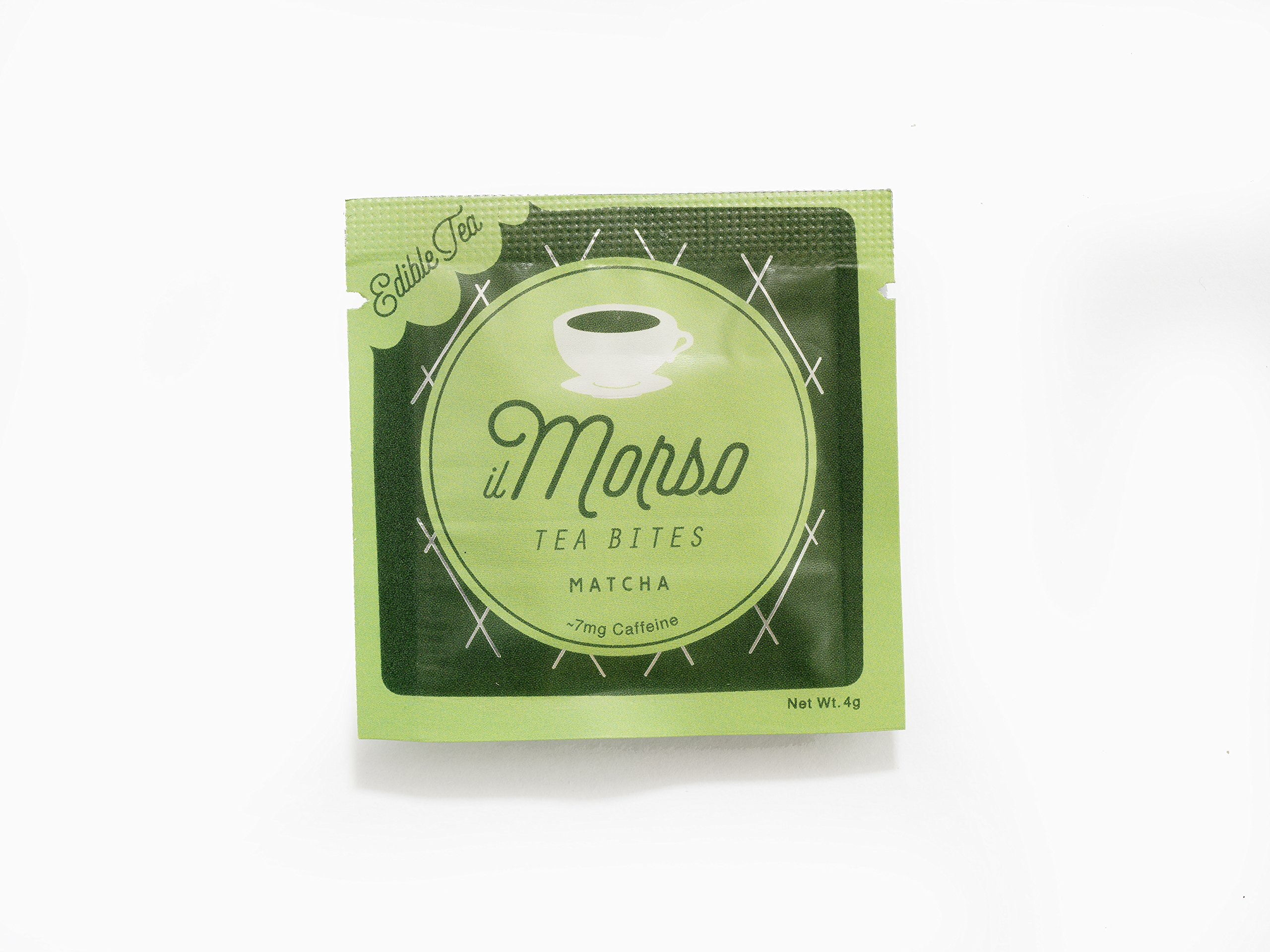 il Morso Coffee Bites, Matcha Green Tea, 40 Count