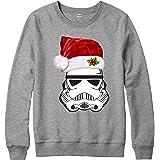 Spoofy Christmas Clothing Santa Trooper Xmas Jumper, Inspired Top