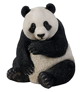 Vivid Arts NF PNDA A Large Panda Resin Ornament