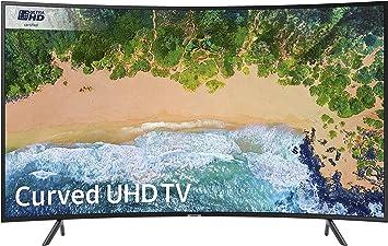 SAMSUNG Ue49nu7300 49 Pulgadas Curvo 4k Ultra HD HDR Certificado Smart TV: Amazon.es: Electrónica