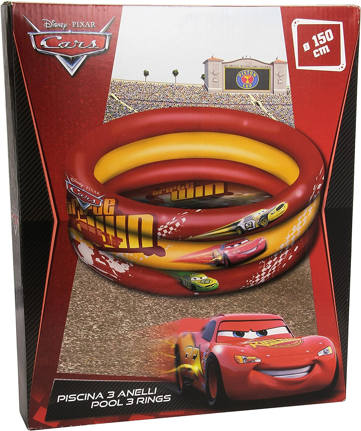 Cars Mondo 16/243 Disney Piscina Hinchable (150 cm)