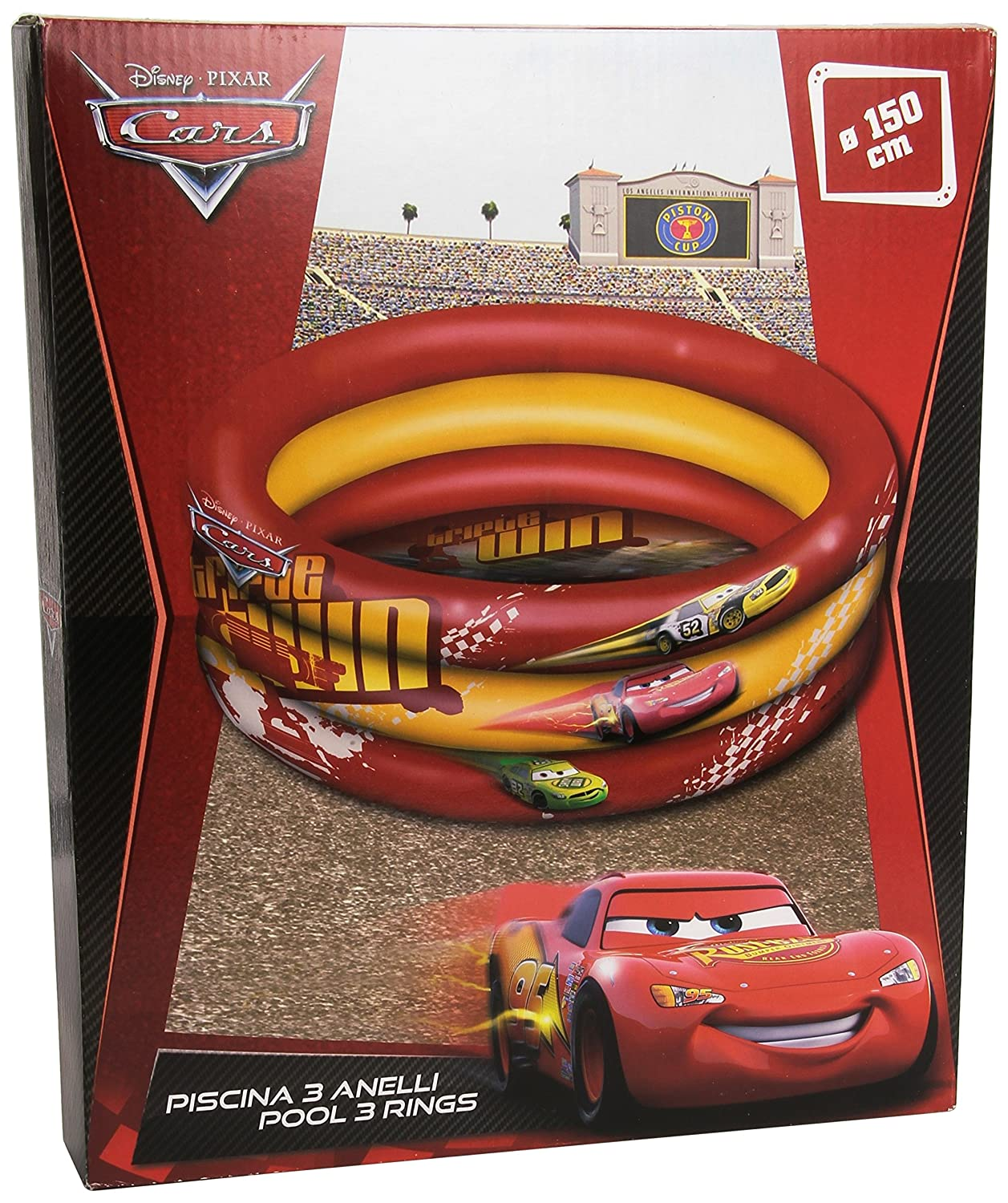 Cars Mondo 16/243 Disney Piscina Hinchable (150 cm): Amazon.es ...