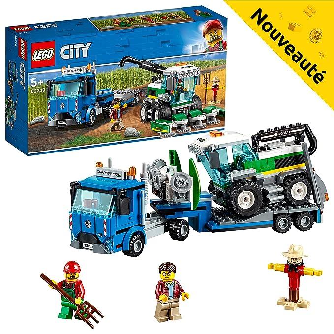 Transport Construction Lego 60223 City De L'ensileuse Jeu Le EDW2IY9H