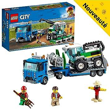 Jeu De City Le Lego Transport 60223 L'ensileuse nwOk8PN0X