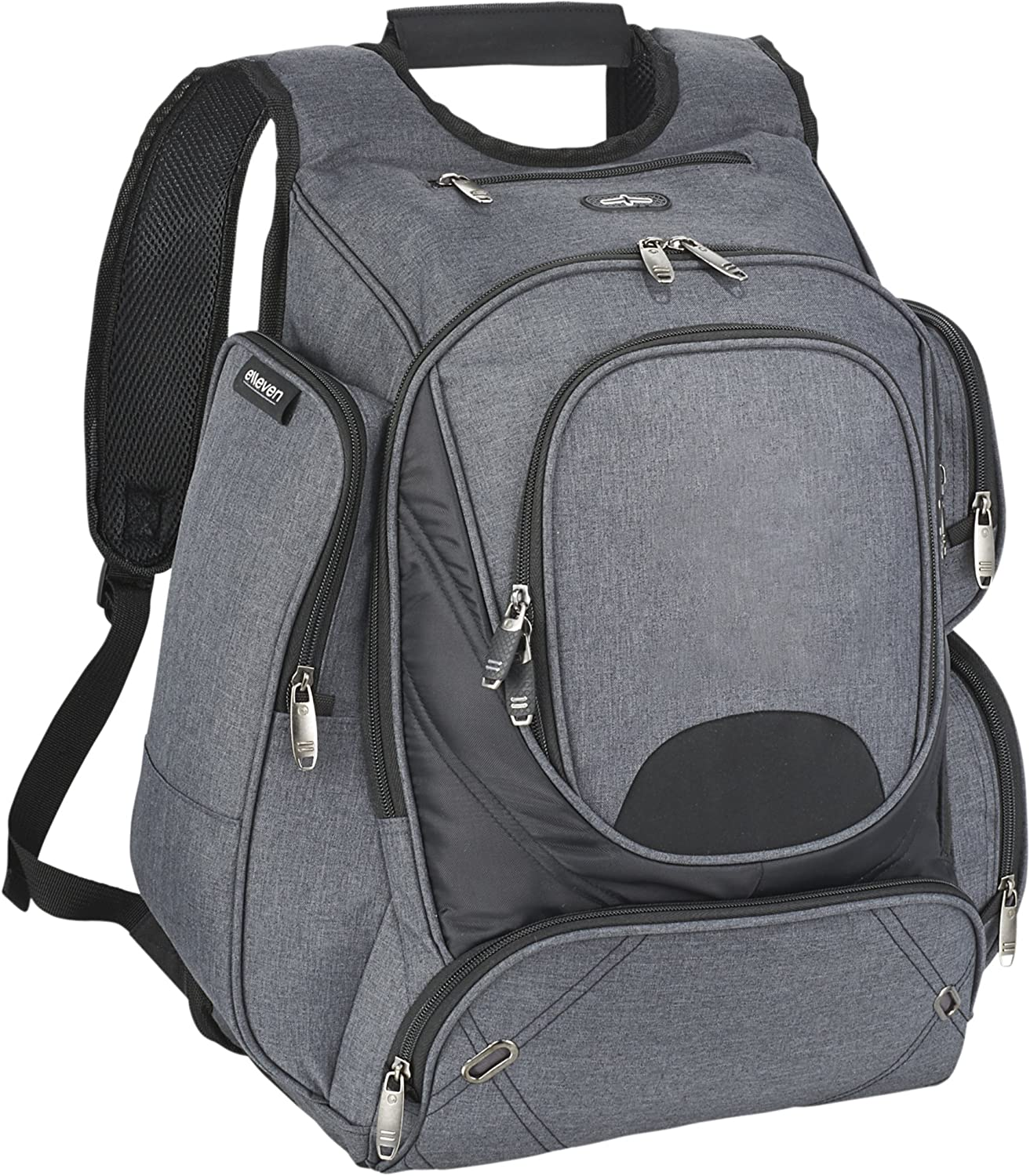 Elleven Proton Checkpoint Friendly 17in Computer Backpack (16.3 x 8.9 x 18.7 inches) (Gray)