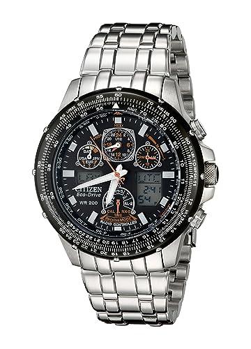 Citizen JY0000-53E - Reloj de cuarzo para hombre, correa de acero inoxidable: Amazon.es: Relojes