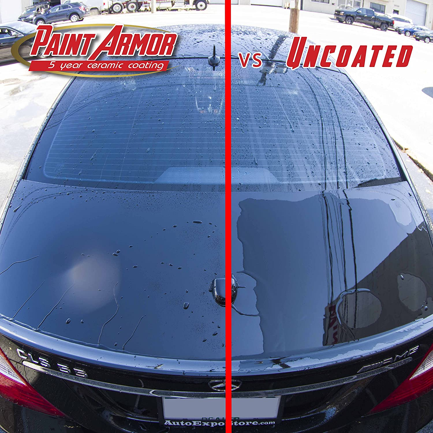 Ls For Drying The Ceramic Coating Are Behind Car Csp53087681