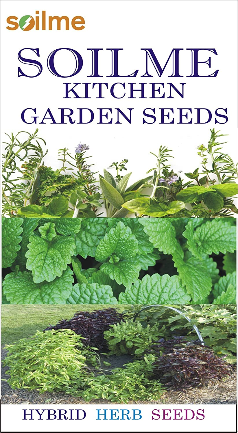 Cheapest amazon herbs - Soil Me Pack Of 4 Herb Seeds Basil Rosemary Oregano And Thyme Amazon In Garden Outdoors