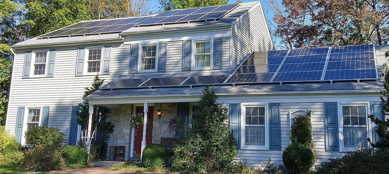 Solar Clam-P – Solar Panel Mounting Kit – 4 panels – Portrait