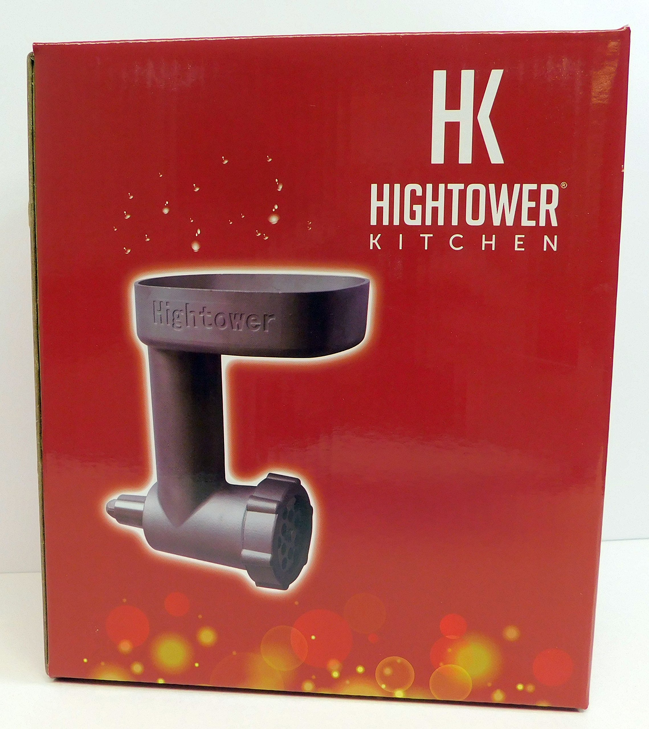 Heavy Duty Stainless Meat Grinder for Kitchenaid Mixer Priority Shipping by Hightower Quality Kitchen