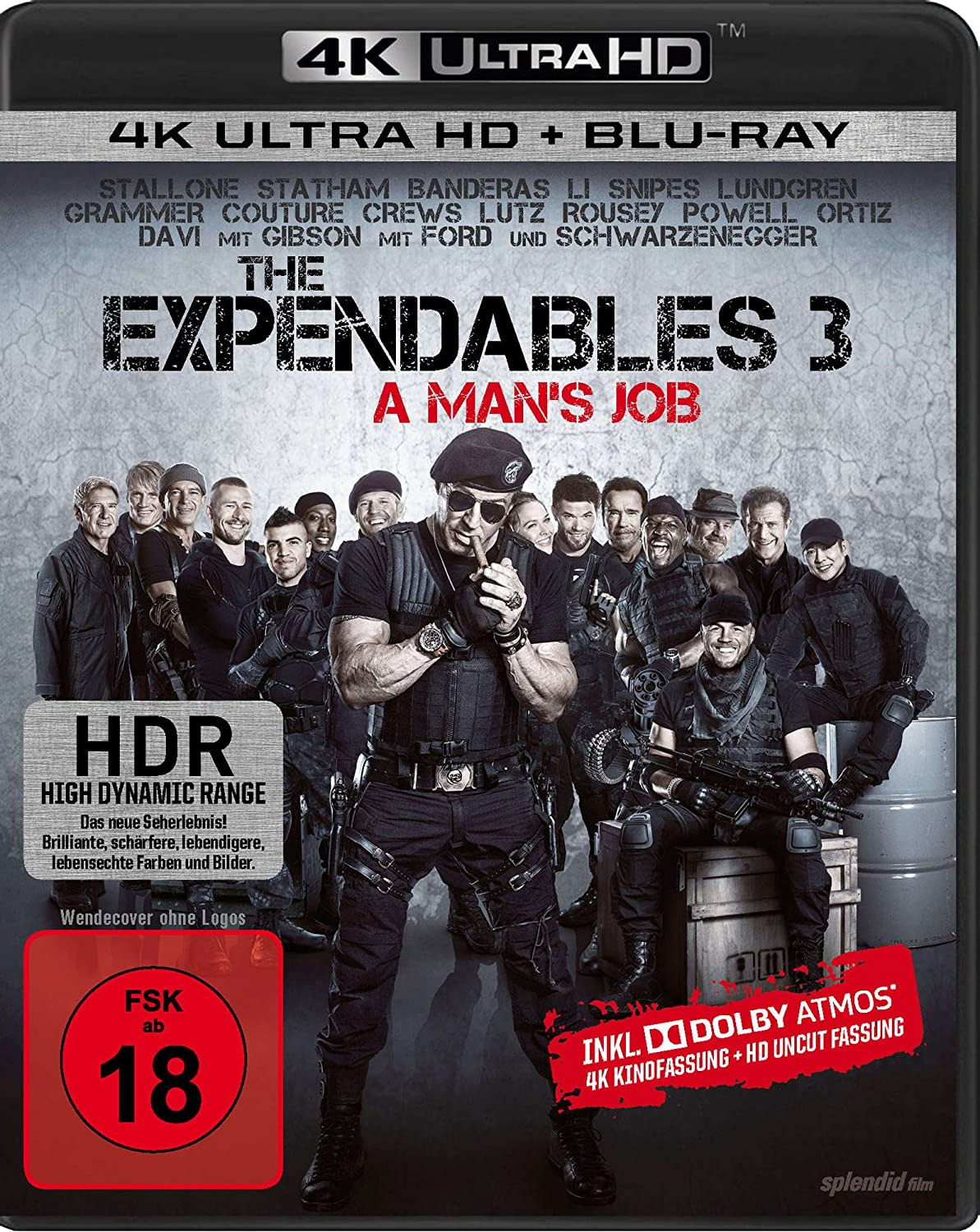 The Expendables 3 Uncut 4k Ultra Hd Blu Ray Blu Ray